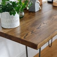 Bowes Hairpin Console Table - Limited Edition   Made in UK